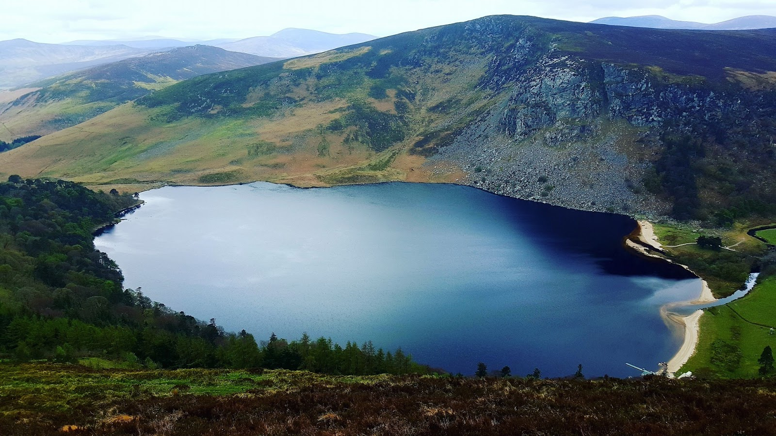 Lough Tay - The Guinness Lake - Wicklow County Tourism