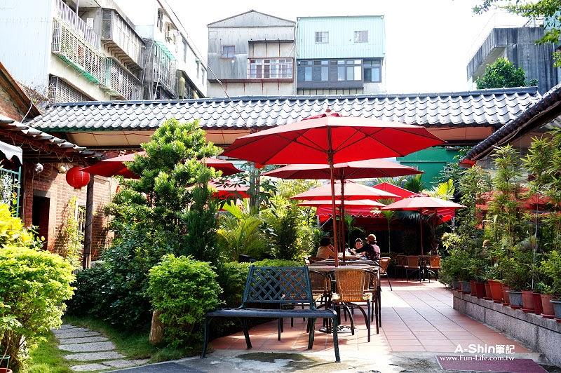 台北蘆洲老厝邊庭園西餐廳9