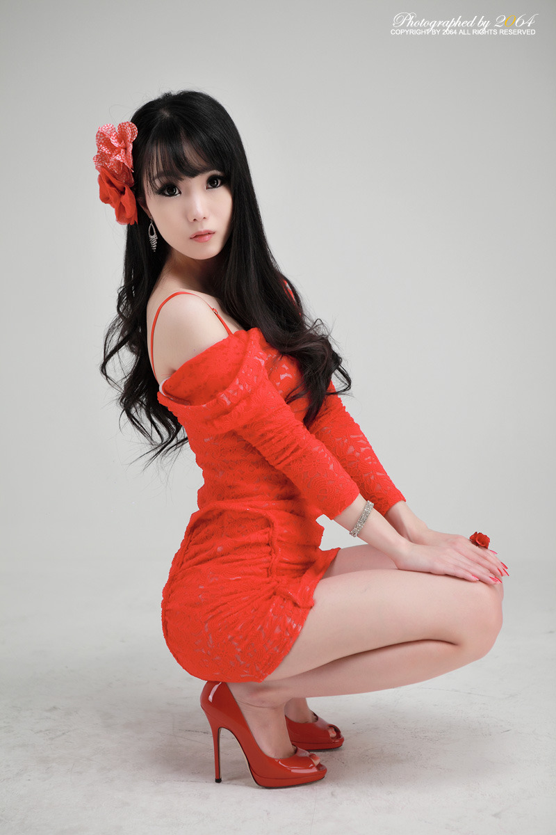 Sexy+Im+Soo+Yeon%21 009 Beautiful Im Soo Yeon Photos in Red Dress