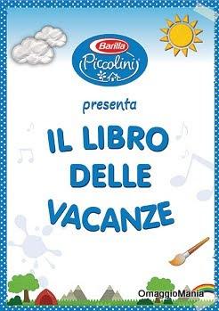 libro delle vacanze gratis da Barilla