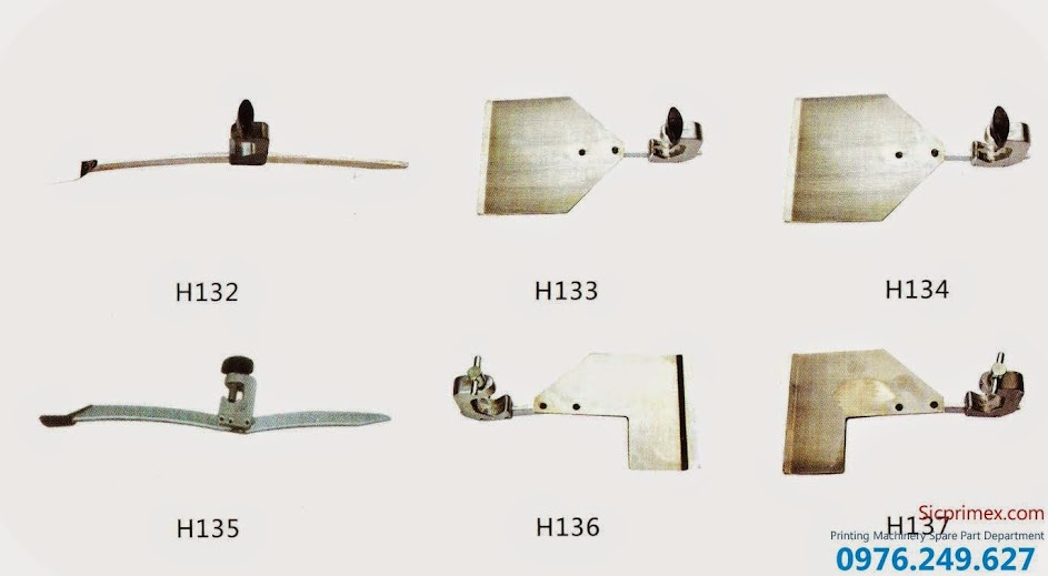 Phụ tùng máy in chính hãng Heidelberg chất lượng cao giá rẻ H132-137