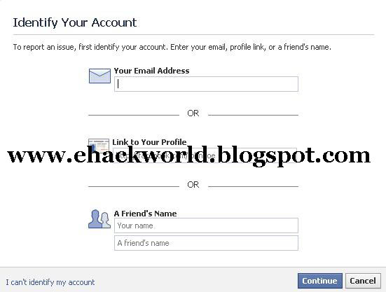 How to delete someone else facebook account hackdonor now you will get this screen ccuart Gallery