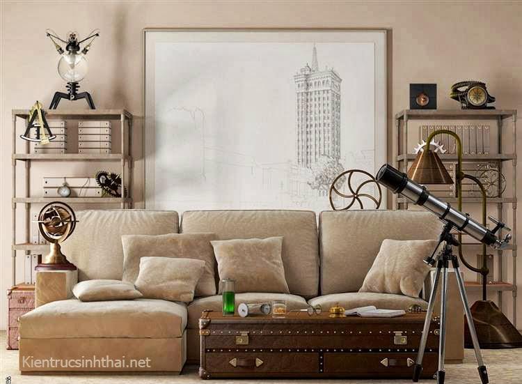 Phòng khách nghệ thuật