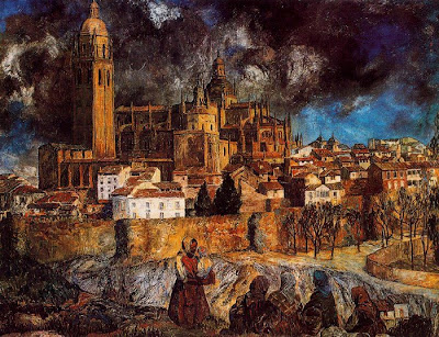 Ignacio Zuloaga - View of Segovia
