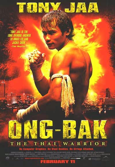 Poster Of Ong-Bak (2003) Full Movie Hindi Dubbed Free Download Watch Online At Alldownloads4u.Com