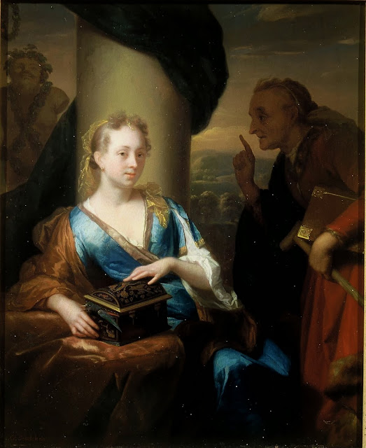 Godfried Schalcken - A useless moral lesson