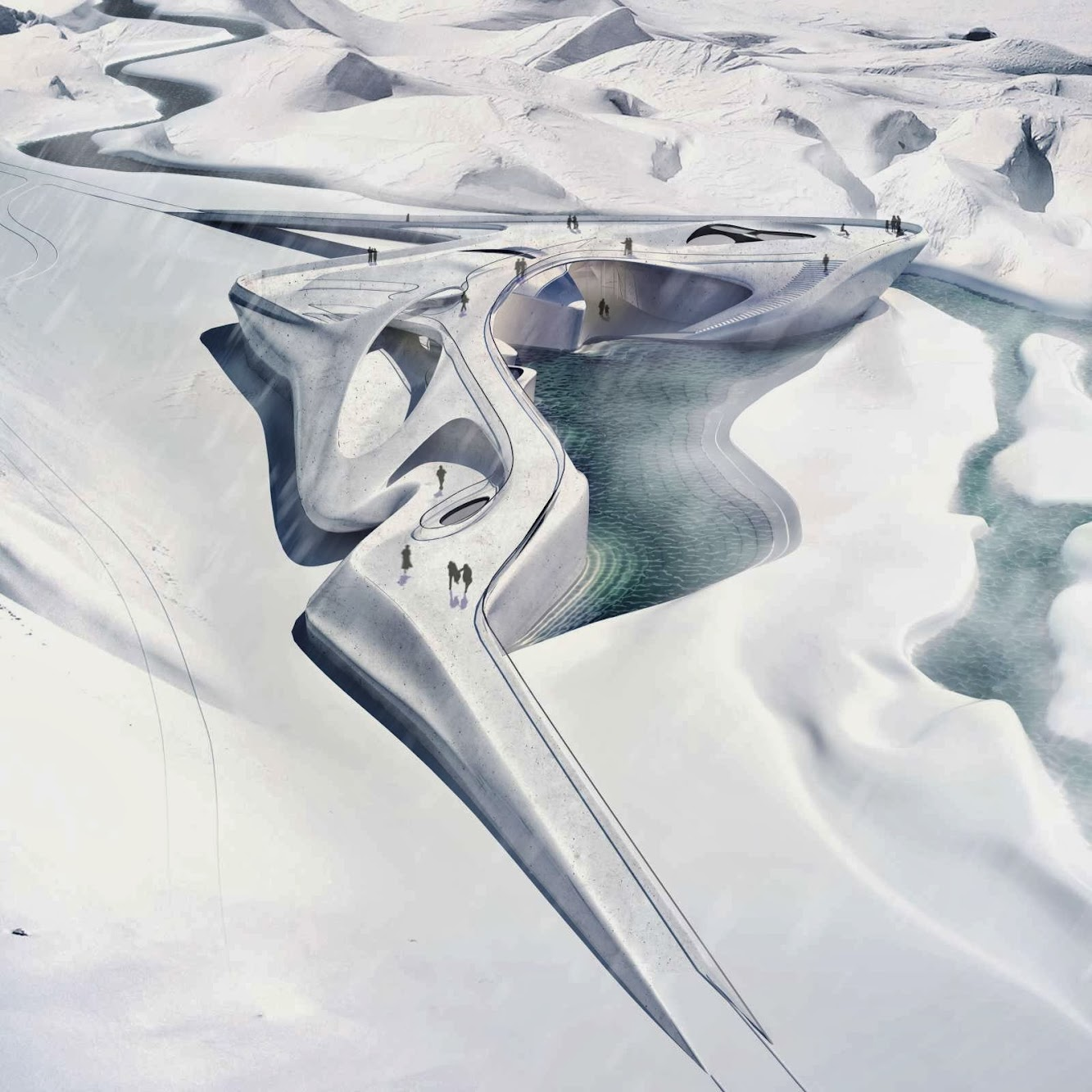 Ghiacciaio del Rodano, 3999 Oberwald, Svizzera: Center For Glaciology by Matthias SÜTTERLIN