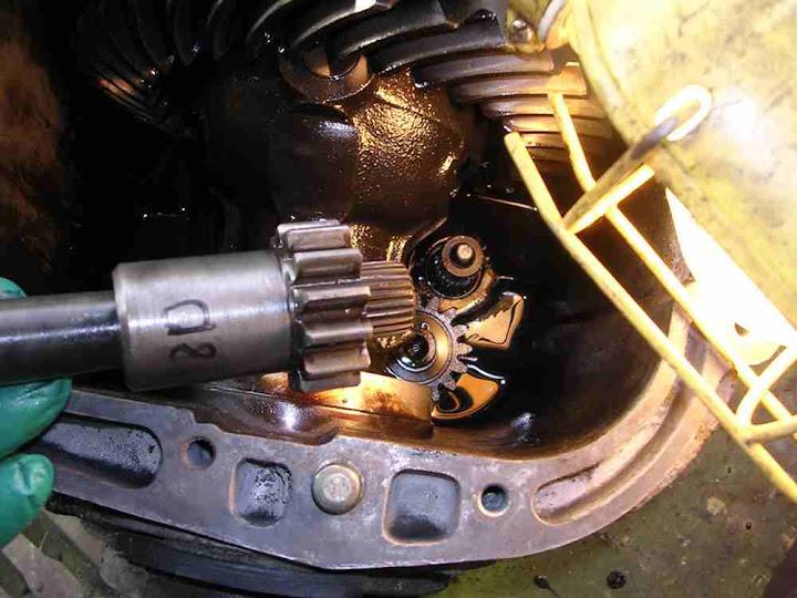 Manual transmission input shaft bearing noise