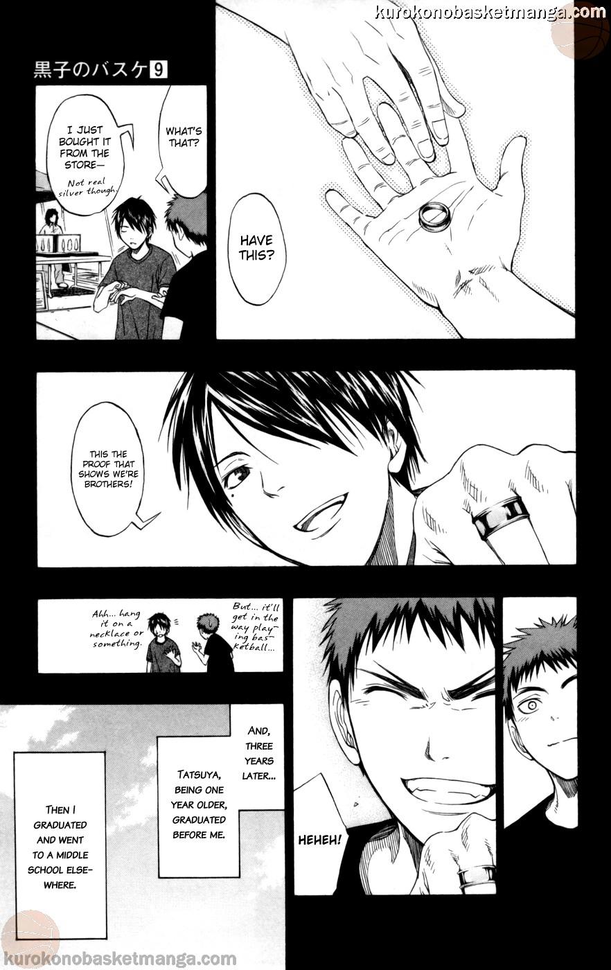 Kuroko no Basket Manga Chapter 76 - Image 09