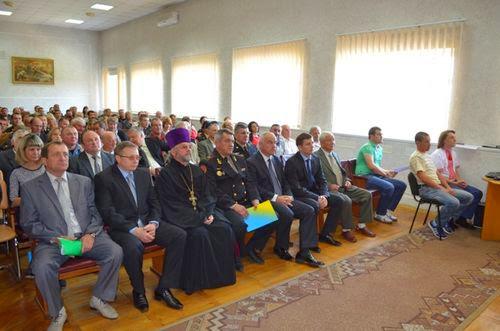 Житомирских спасателей поздравили с профессиональным праздником. ФОТО