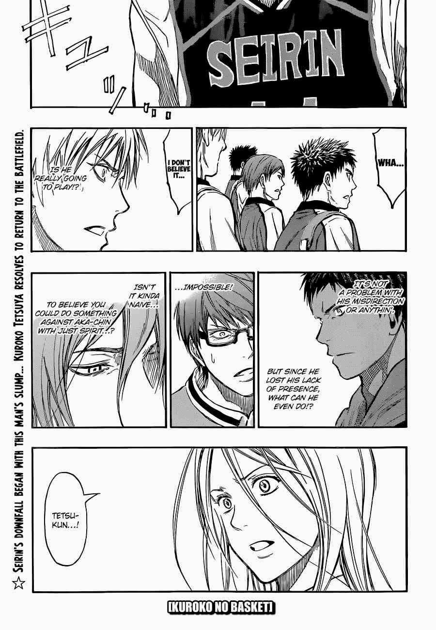 Kuroko no Basket Manga Chapter 248 - Image 01