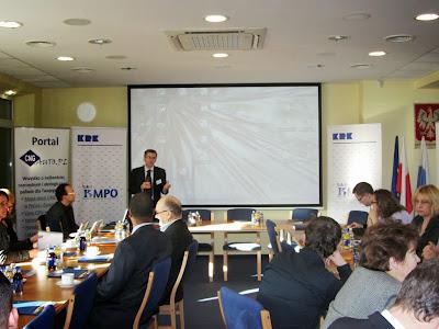 Biometan - Biomaster. Spotkanie otworzył i poprowadził pan Stefano Proietti
