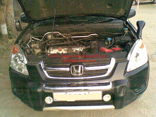 CNG KIT SEQUENTIAL IN HONDA CRV