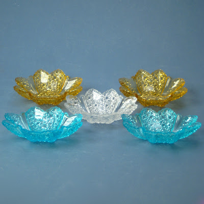 Duncan Glass Ellmore or Paneled Daisy Berry Bowls or Sauce Dishes