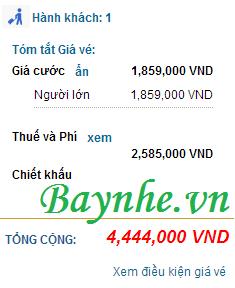 Vé siêu rẻ chào thu 2015 của Vietnam Airlines