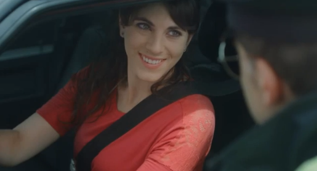 A Trident Smile Goes A Long Way For This Reckless Woman Driver