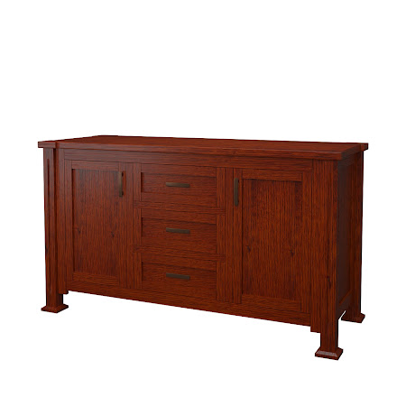 Sacramento Buffet in Michigan Quarter Sawn Oak