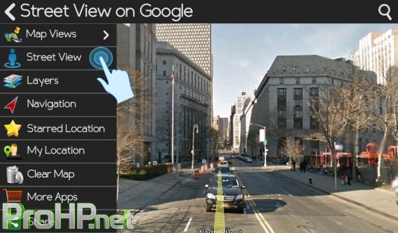 Streetview on Google v1.3 for BlackBerry