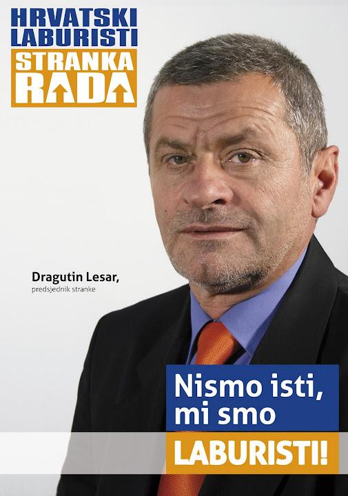 Dragutin Lesar - Hrvatski laburisti - Stranka rada