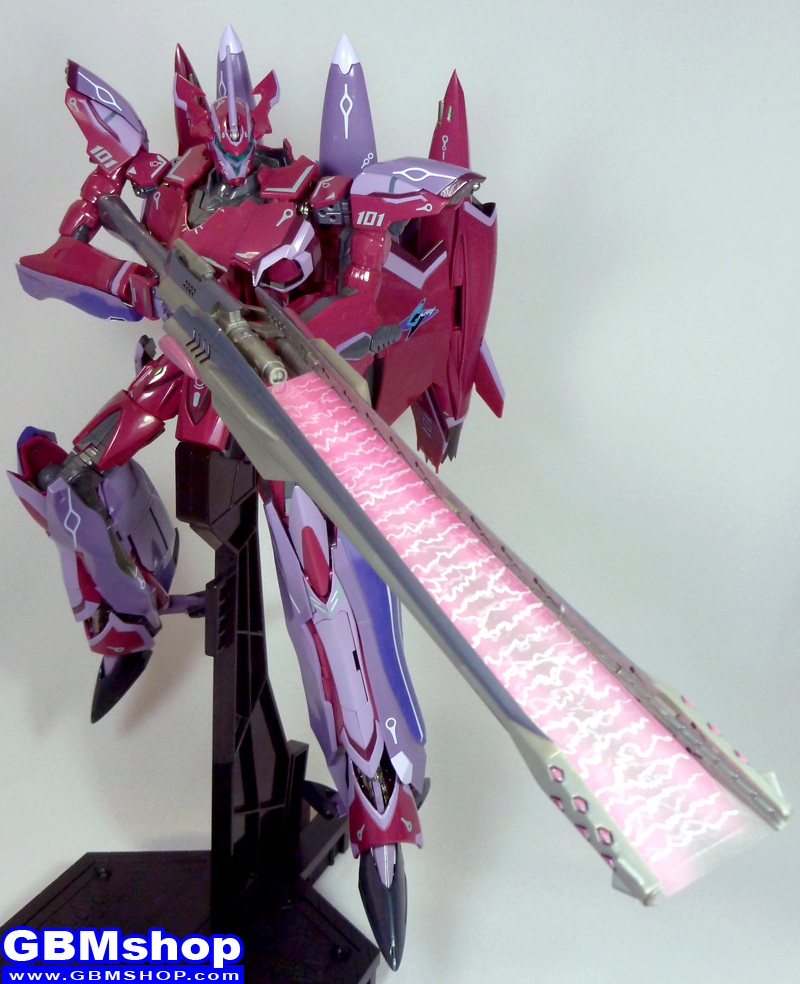Macross Frontier VF-27 Super Lucifer Renewal Version with Effect
