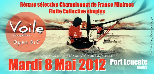 Voile Compétition Flotte_collective Open_bic Leucate