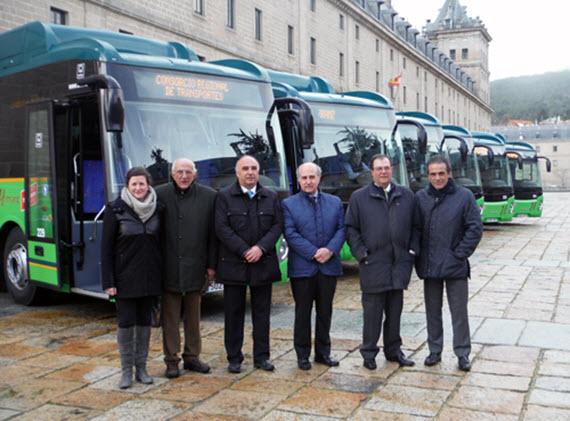 6 nuevos autobuses interurbanos para las líneas 640, 660, 667 y 669