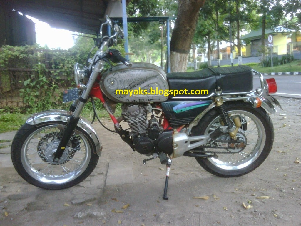 modifikasi honda tiger 2009