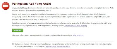 Peringatan google,reconsideration request,peringatan,warning,malware,virus,membahayakan komputer,danger,reconsideration,request
