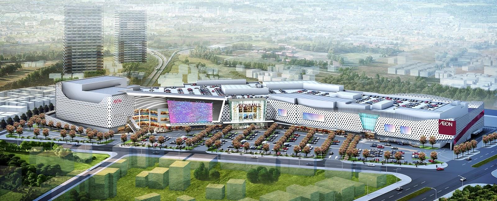 AEON Mall Hà Đông được xây dựng đối diện FLC Garden City Đại Mỗ