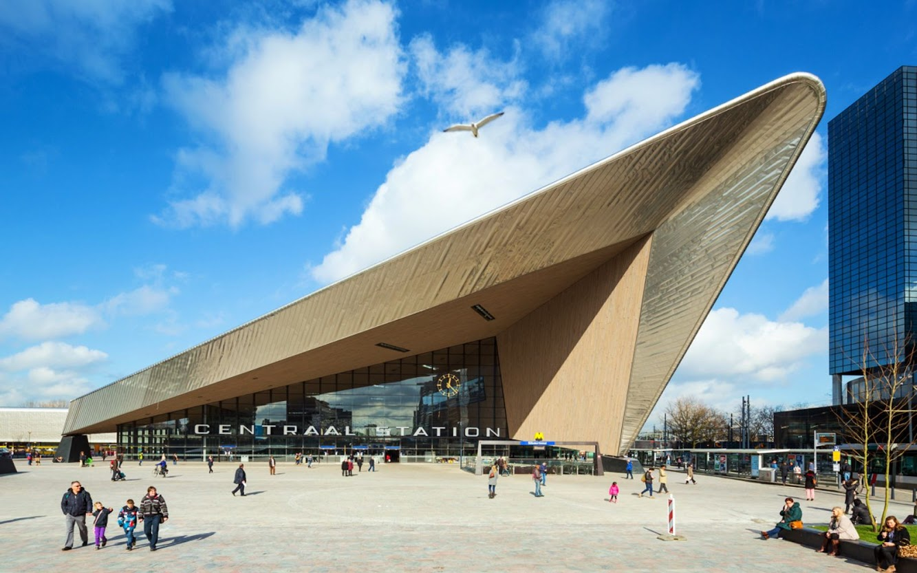 Station: ROTTERDAM CENTRAL STATION by MVSA