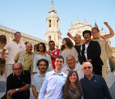 Gruppo degli organizzatori e relatori di Loreto