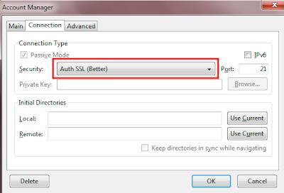 ssl4 Cara Mudah Mengamankan FTP Server (VSFTPD) Dengan Koneksi TLS/SSL