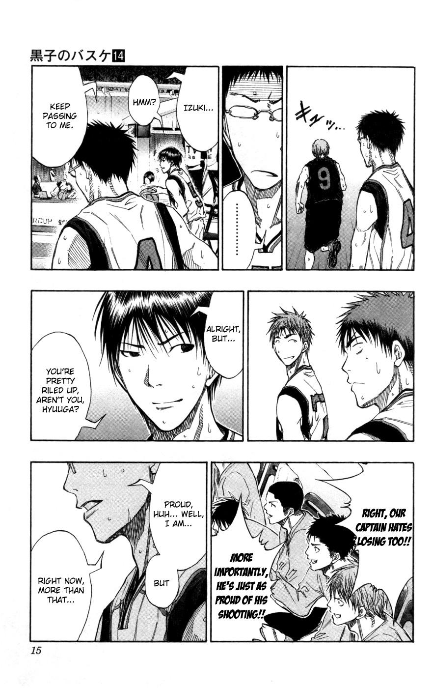 Kuroko no Basket Manga Chapter 118 - Image 4_015
