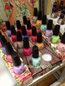 China Glaze City Flourish nail polish collection, pastel, bright