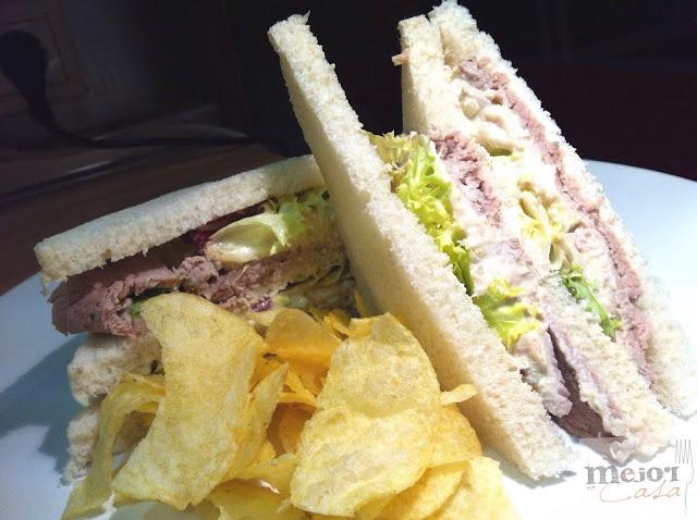 Sandwich de Vitello tonnato restaurante a domicilio Mejor en casa