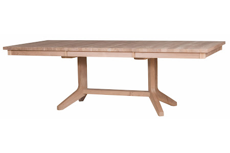 "90"" x 40"" Austin Dining Table in Unfinished Walnut"