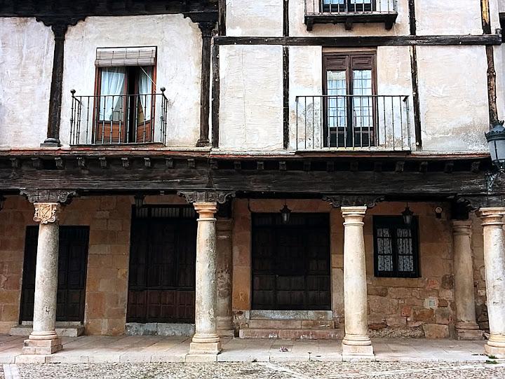 Turismo rural en Sigüenza. Plaza del Trigo de Atienza