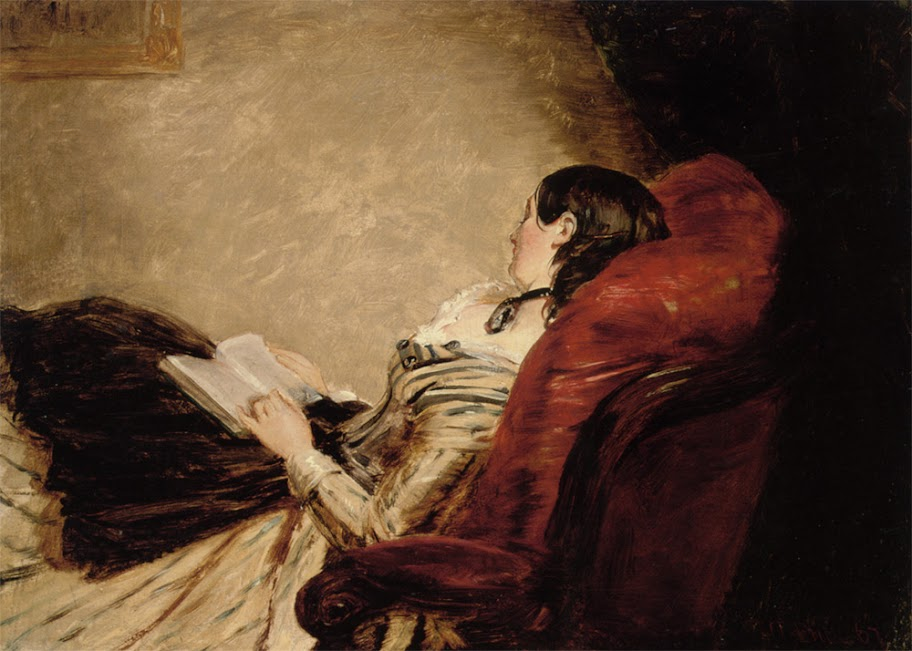William Powell Frith - Isabelle Frith Reclining