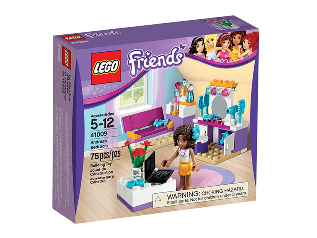 41009 レゴ フレンズ アンドレアのベッドルーム