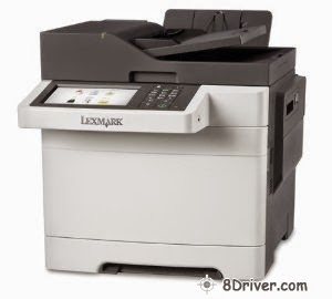 download and installed Lexmark CX510 laser printer driver
