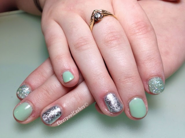 shellac mint convertible nails