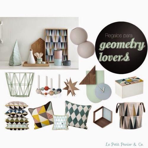 Tendencia geométrica en decoración
