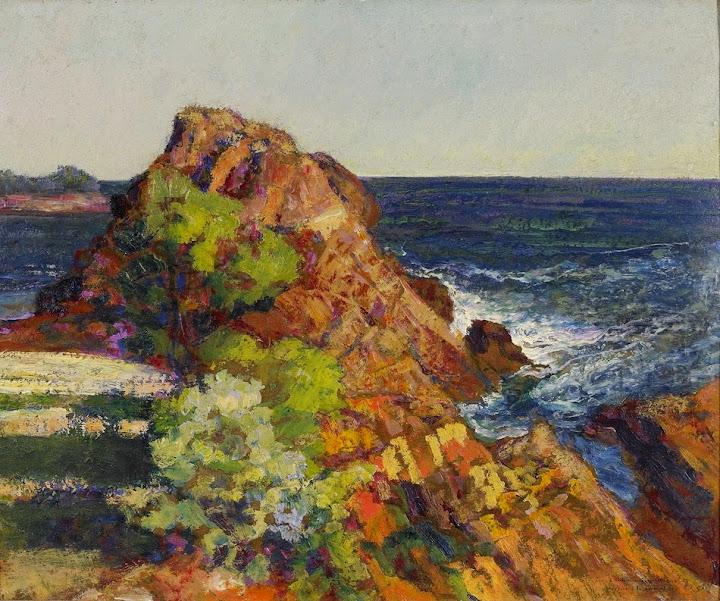 Victor Charreton - Coastal View