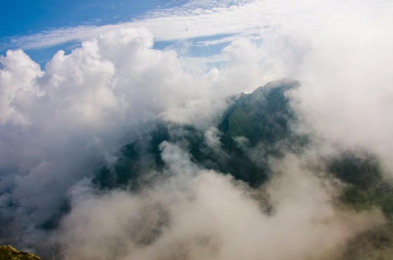 Vedere din Muchia Tarata