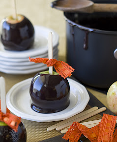 Black licorice caramel
