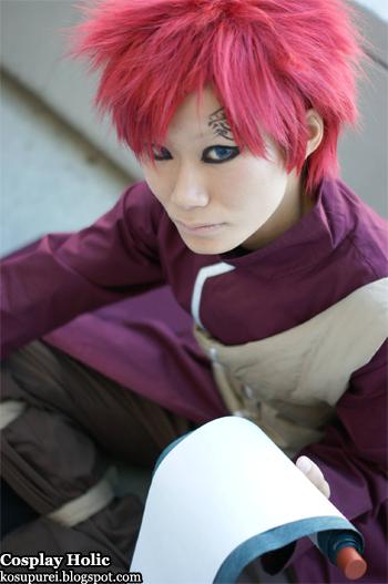 naruto cosplay - gaara 3 by hayate
