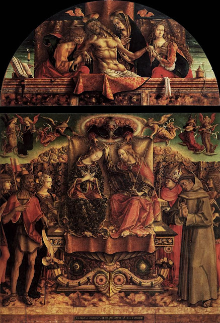 Carlo Crivelli - Coronation of the Virgin