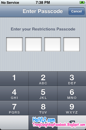 unlocked, mở khóa iphone bằng mã unlocked