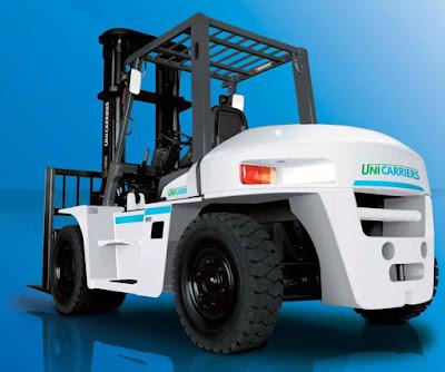 Xe nâng hàng 10 tấn Nissan Unicarriers