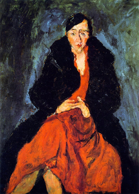 Chaim Soutine - Portrait of Madeleine Castaing